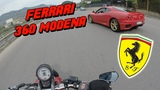 FERRARI 360 MODENA and CAGIVA 125!