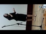 Жукова Ирина на конкурсе патриотической песни Красная гвоздика. 12 апреля 2018г