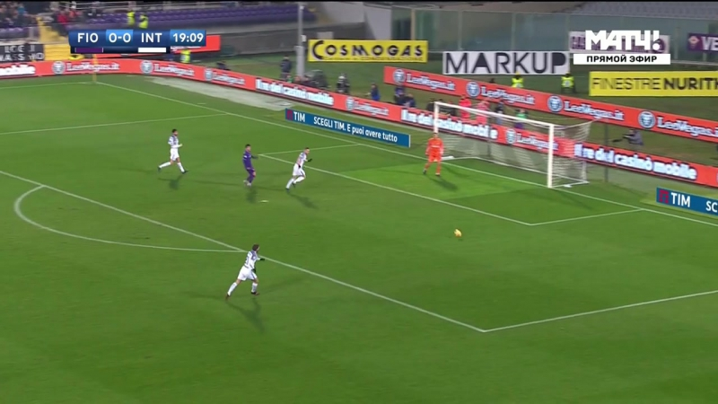 Чемпионат Италии 2017-18 / Serie A / 20-й тур / Фиорентина - Интер / 1 тайм [720, HD]