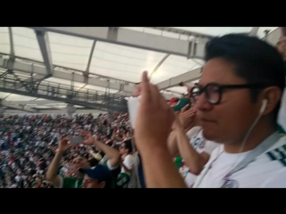 The match Mexico- South Korea