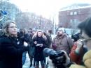 Ксения Собчак останавливает снос здания на Томской