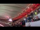 Así ha sonado el himno de España en el Wanda Metropolitano vía @JulianPereiraDj.