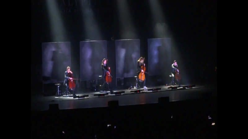 Apocalyptica Master of Puppets (fragment) @ Crocus City Hall
