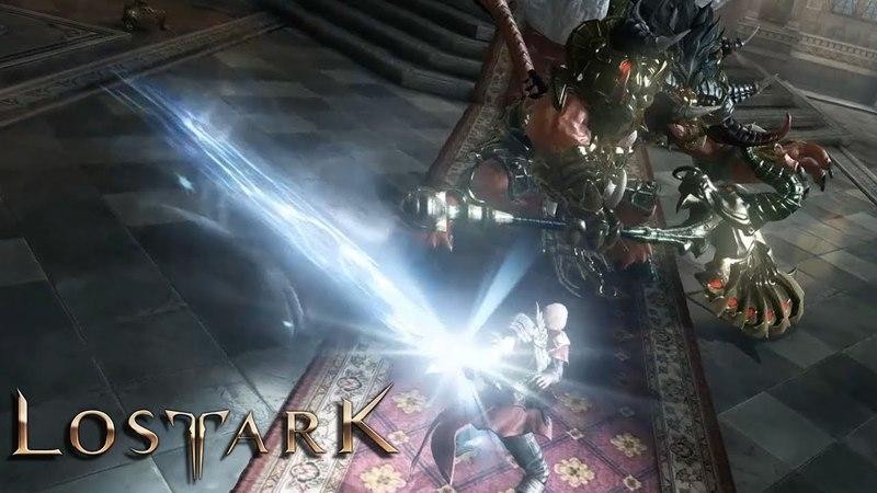 Lost Ark FCBT Story Castle Siege Hawkeye Gameplay