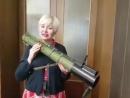 Украинская детская писательница Лариса Ницой решила под дулом гранатомёта привить любовь к украинскому языку и литературе.