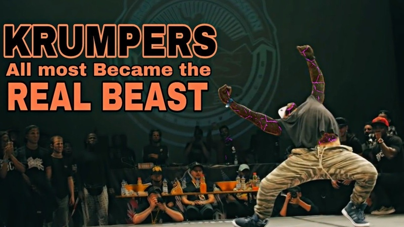 KRUMPERS ALMOST BECAME THE REAL BEAST | KRUMP DANCE BATTLE COMPILATION🔥