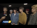 INTERVIEW 171118 BTS Discusses Their Intensely Loyal Fans Celeb Crushes! @ Access Hollywood