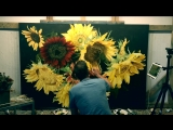 Thomas Darnell - Painting Sunflowers