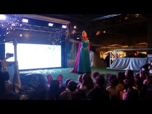 Frozen Il regno di ghiaccio - Lo spettacolo Elsa All Alba Sorgero'