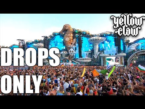 Yellow Claw Drops Only @ Tomorrowland 2018