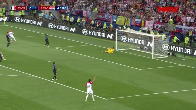 Франция - Хорватия (4:2) Голы и лучшие моменты.