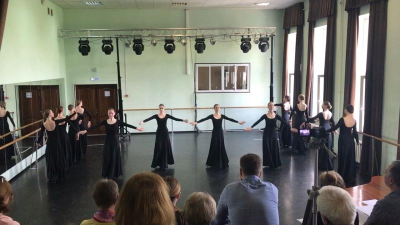Чеченский девичий танец Зама