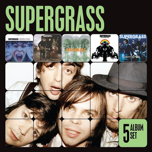 Supergrass альбом 5 Album Set (I Should Coco/In It for the Money/Supergrass/Life on Other Planets/Diamond Hoo Ha)