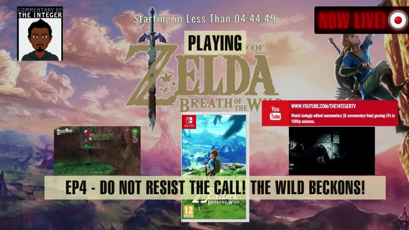 Zelda is calling in the breath of the Wild! We 'cannot' resist the call! - Ep 4 (80-90% Blind)