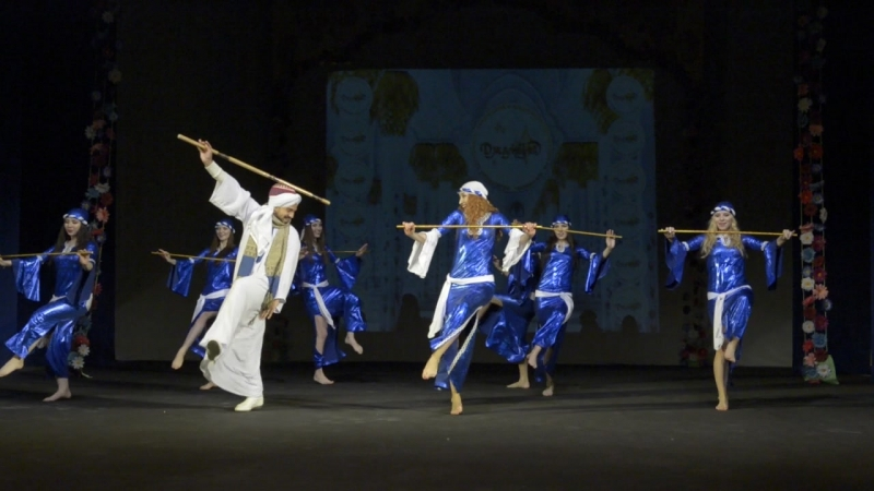 группа фольклор саиди Saidi dance
