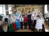 Детский фольклорный казачий ансамбль «Чадунюшка». «Рождественская роза»