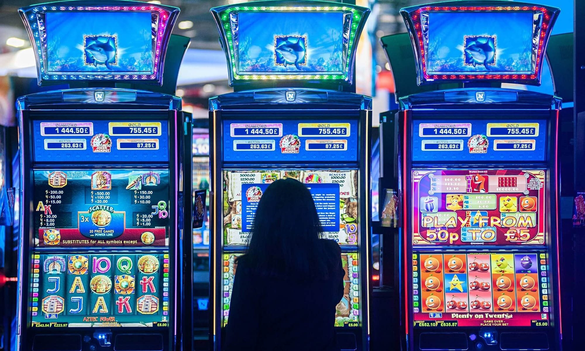 Типы игровых автоматов для игры на реальные деньги