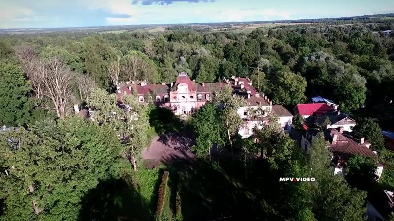 Усадьба графа Строганова в деревне Волышево Псковской области. Павел Москалев