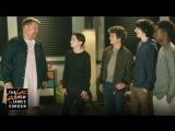 Дети из Stranger Things и Джеймс Корден состояли в кавер-группе [ЖЮ-перевод]
