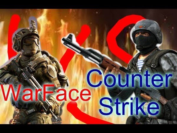 РЭП БАТТЛ Counter Strike Condition Zero VS WarFace Реванш feat CaXaPoK MORIS