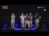 170901 (170808) Brave Girls - High Heels; Rollin' @ KFN K-Force TV Special Show / Consolation Train