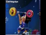Ина Андерсон - толчок 108 кг