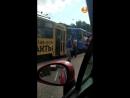 Два трамвая вдребезги
