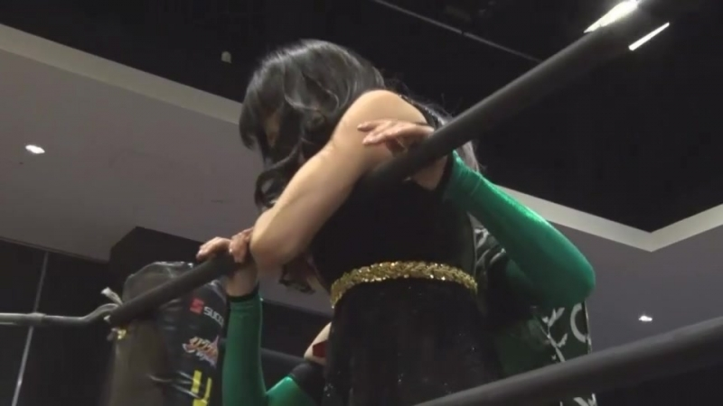Saki-sama, Azusa Christie vs. Yuu, Hyper Misao (TJP - Let's Go To Kasukabe In The Spring, Together with Your Friends!)
