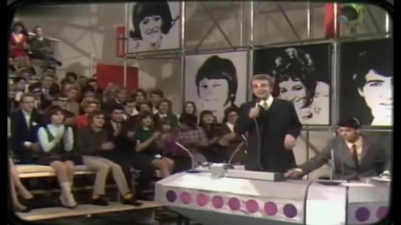 Первый выпуск ZDF-Hitparade (ведущий Dieter Thomas Heck, 1969)