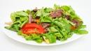 Яркий тёплый салат с говядиной