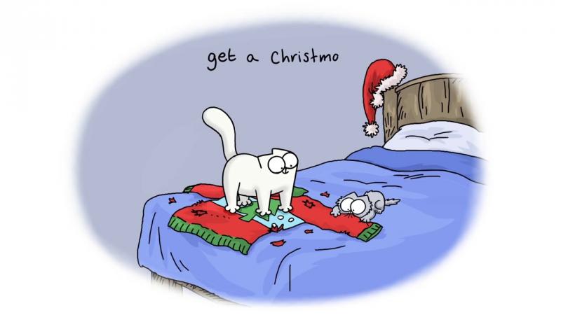 Кот Саймон (Новый год)