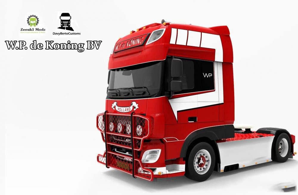 DAF XF EURO 6 – W.P DE KONING BV