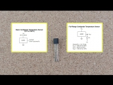 Аналоговый датчик температуры LM35