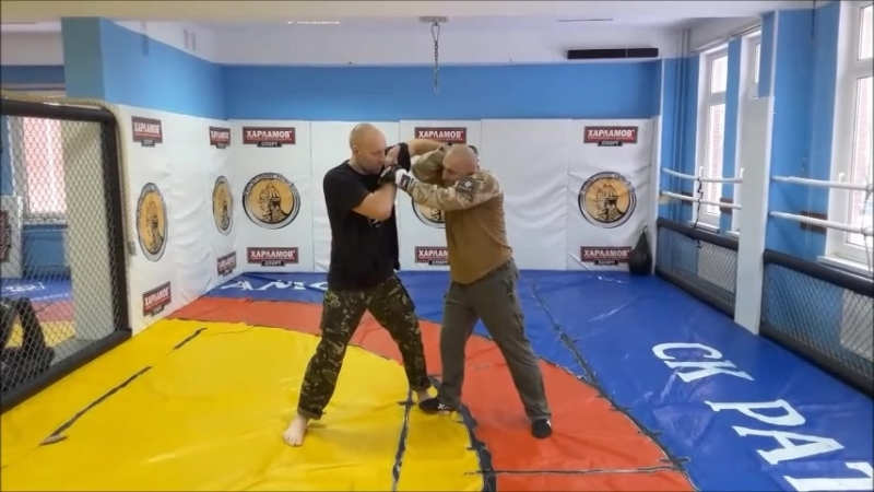 MMA*RAPT*Tactical self defense. -часть 3. Грязный Бокс