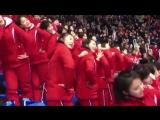 Как болельщицы из Северной Кореи, болеют на Олимпиаде [MDK DAGESTAN]