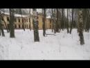 Заброшенный военный госпиталь в Петергофе
