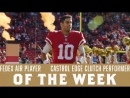 Jimmy Garoppolo Nominated for Two Player of the Week Honors (Week 15)