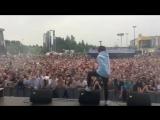 Выступление GONE.Fludd с треком «МАМБЛ» на фестивале «Mega Urban Fest» в Уфе
