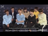 [RUS SUB][18.05.18] BTS Explain The Story in Their New Album 'Love Yourself Tear' @ Billboard