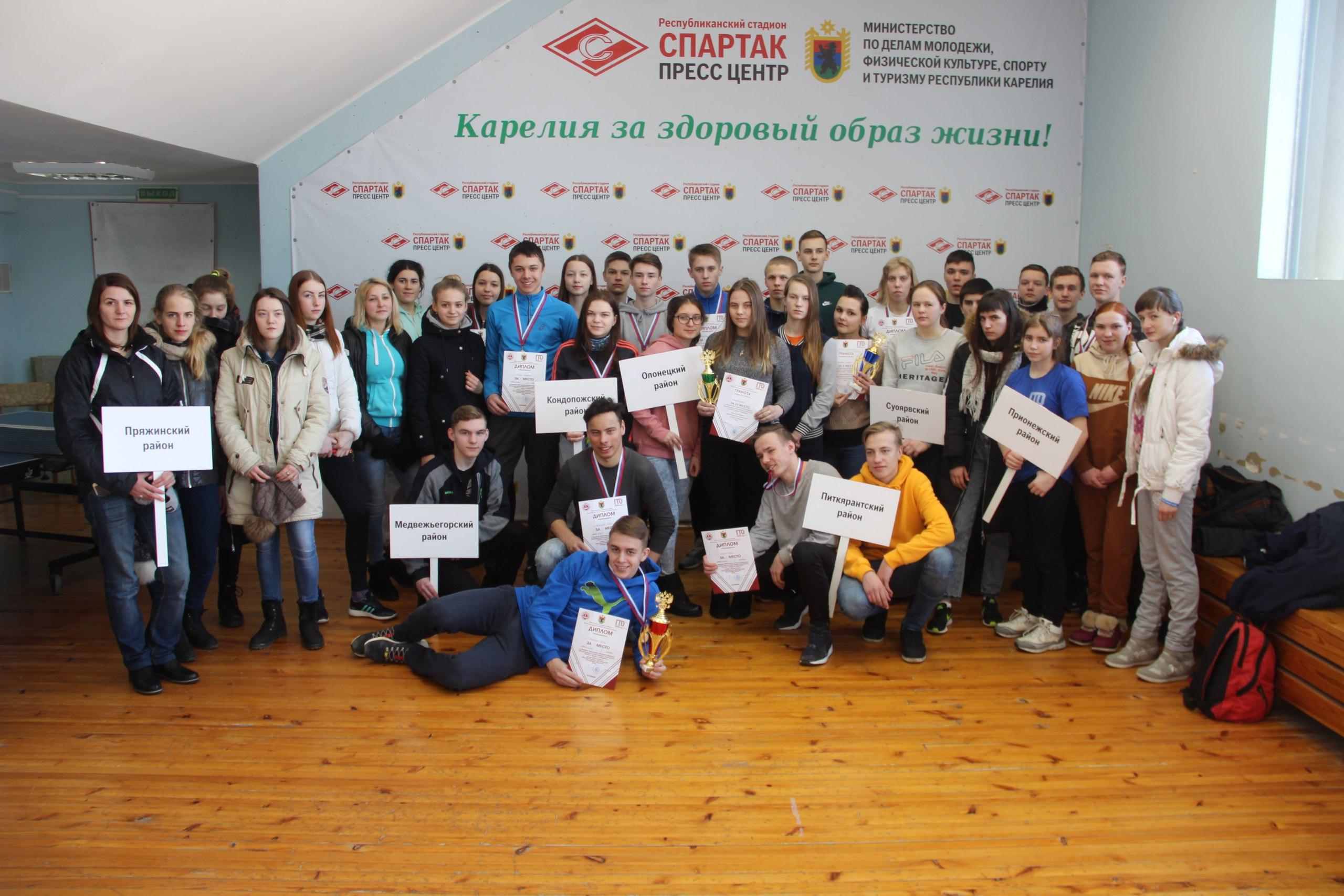 Завершился Зимний фестиваль ГТО в Карелии
