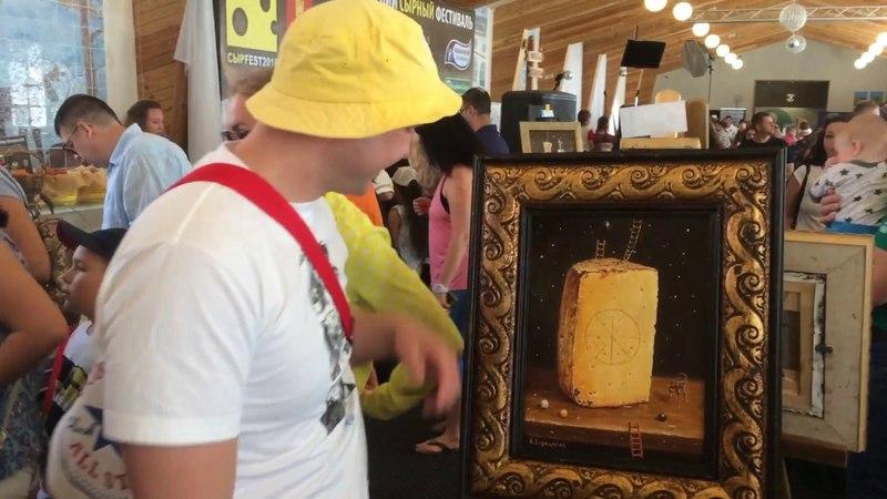 Сыр Фета и наша пшеничка, пробуем ...