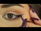 Best way to draw a Perfect eyeliner for HOODED EYES