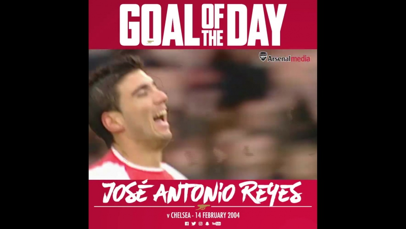 Goal of the Day Reyes