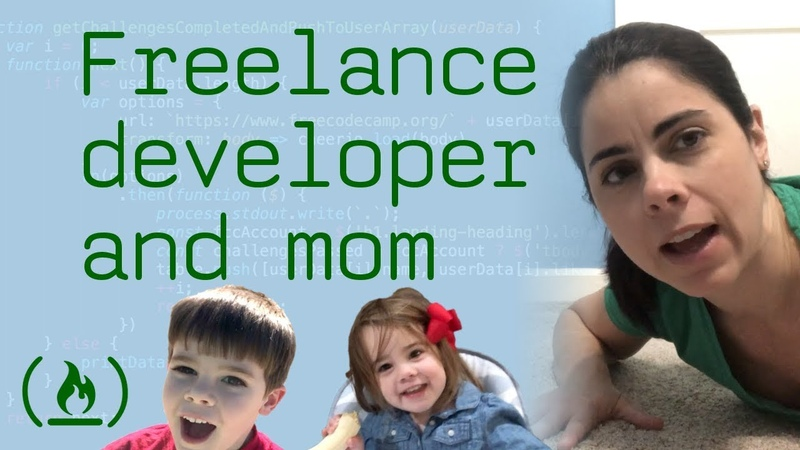 Day in the life of a freelance developer and mom