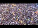 Митинг за независимость в Барселоне