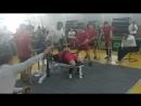 Громов Денис Жим 220 кг не засчитан