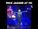 Мик Джаггер в свои 74:)
