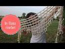 Crochet border for baktus scarfs