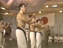 Жёсткий вариант исполнения Сантин Ката от Японцев. Кёкушин времён Оямы Масутацу
