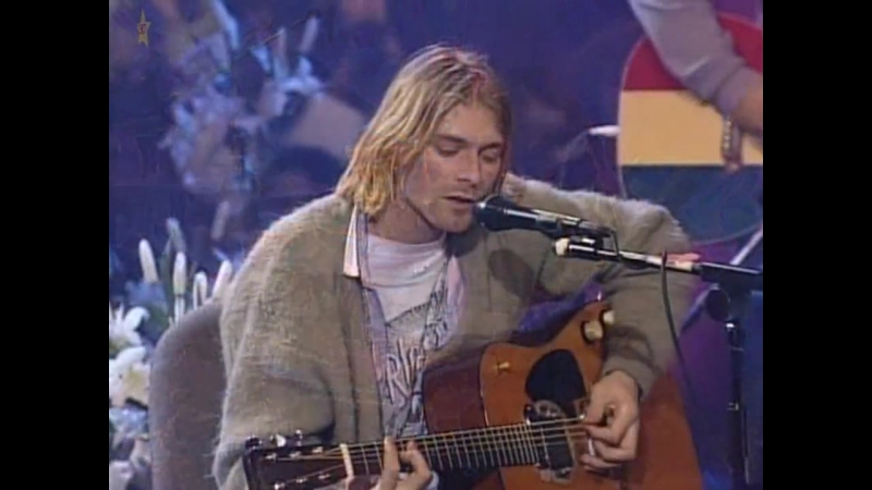 Nirvana - MTV Unplugged in New York (1994). Live in HD[720]